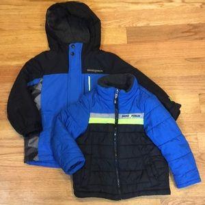 Boys Sz 5/6 ZeroXposur 2 in 1 Convertible Jacket